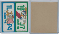 1976 Wonder Bread, Crazy License Plates, Disney, Oklahoma, Virginia