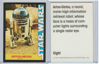 1977 Wonder Bread, Star Wars, #8 Artoo-Detoo