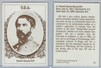 1979 Frank Garo, Civil War Generals, #12 Daniel Harvey Hill