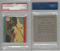 R12 WS Corp, America at War, 1942, #533 Tanks in Africa, PSA 6 EXMT