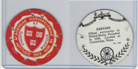 R123 Seal Craft, Seal Craft Discs, 1930's, #100 Harvard University