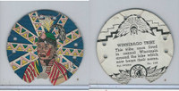 R123 Seal Craft, Seal Craft Discs, 1930's, #102 Winnebago Indian Tribe