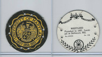 R123 Seal Craft, Seal Craft Discs, 1930's, #105 University of Maryland