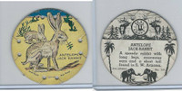 R123 Seal Craft, Seal Craft Discs, 1930's, #111 Antelope Jack Rabbit