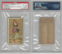 N185 Kimball, Dancing Girls of the World, 1889, Albany, PSA 6 MC EXMT