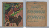 R128-2 Strip Card, Series of 48 - Western, 1933, #213 Andy Burnett Grizzly