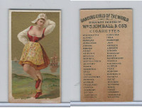 N185 Kimball, Dancing Girls of the World, 1889, Gothia