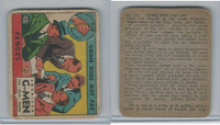 R13 Strip Card, American G-Men, 1930's, #103 Fences