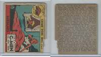 R13 Strip Card, American G-Men, 1930's, #122 Burglars