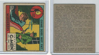 R13 Strip Card, American G-Men, 1930's, #134 Murderers