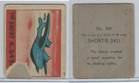 R132 Strip Card, Series of 48 - Aviation, 1938, #309 Short R 2431