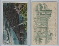 N102 Duke, Bridges, 1890, Delaware & Hudson Canal Bridge, Troy, N.Y.