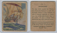 R135 Package Confectionery, Beautiful Ships, 1933, #7 Mayflower