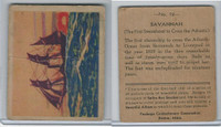 R135 Package Confectionery, Beautiful Ships, 1933, #12 Savannah