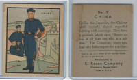 R139 E. Rosen, Soldier Cards, 1932, #13 China