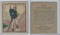 R139 E. Rosen, Soldier Cards, 1932, #15 Switzerland