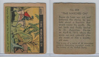 R150 Strip Card, Time Marches On, 1930's, #604 Ponce DeLeon, Florida