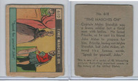 R150 Strip Card, Time Marches On, 1930's, #610 Myles Standish