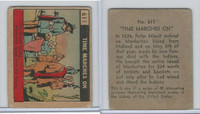 R150 Strip Card, Time Marches On, 1930's, #611 Minuit Buys Manhatten