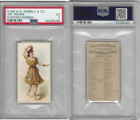 N186 Kimball, Dancing Women, 1889, American Indian, PSA 5 EX