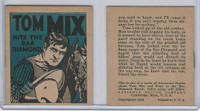 R151 National Chicle, Tom Mix Booklets, 1934, #1 Hits The Bar Diamond