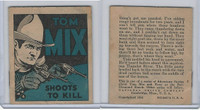 R151 National Chicle, Tom Mix Booklets, 1934, #4 Shoots To Kill