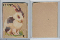 R15-2 Schranz & Beiber Co., Animals, 1930's, #17 Rabbit