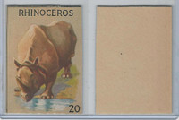 R15-2 Schranz & Beiber Co., Animals, 1930's, #20 Rhinoceros