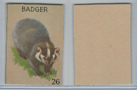 R15-2 Schranz & Beiber Co., Animals, 1930's, #26 Badger
