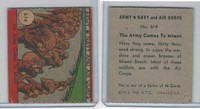 R18 WS Corp, Army, Navy, Air Corps, 1942, #614 The Army Comes to Miami