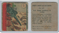 R18 WS Corp, Army, Navy, Air Corps, 1942, #623 U.S. Coast Artillery in Action