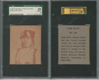 R184-2 Strip Card, Indian Chiefs, 1930's, #108 Lone Wolf, SGC 88 MMMT