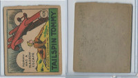 R28 Strip Card, Cartoon Adventures, 1936, #404 Tailspin Tommy