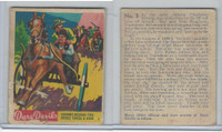 R39 National Chicle, Dare Devils, 1936, #3 Johnny-Behind-The-Deuce