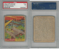 R39 National Chicle, Dare Devils, 1936, #12 Hobson Outwits The Spaniards, PSA 1