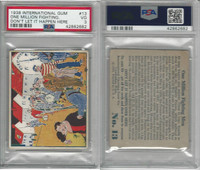 R44 International, Don't Let It Happen, 1938, #13 Million Fighting, PSA 3 VG