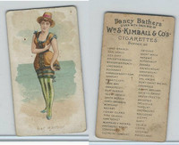 N187 Kimball, Fancy Bathers, 1889, Bar Harbor