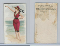 N187 Kimball, Fancy Bathers, 1889, Boulogne
