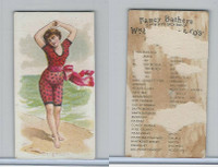 N187 Kimball, Fancy Bathers, 1889, Brighton