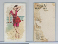 N187 Kimball, Fancy Bathers, 1889, Cape May
