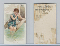 N187 Kimball, Fancy Bathers, 1889, Cette