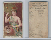 N188 Kimball, Goddesses of the Greeks & Romans, 1889, Cybele