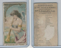 N188 Kimball, Goddesses of the Greeks & Romans, 1889, Fama