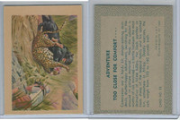 R749 Gum Products, Adventure, 1956, #30 Too Close For Comfort