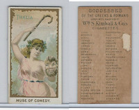 N188 Kimball, Goddesses of the Greeks & Romans, 1889, Thaila