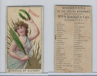 N188 Kimball, Goddesses of the Greeks & Romans, 1889, Victoria