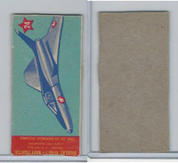 R800 Pecheur Lozenge Co, Ships & Planes, 1956, #24 Douglas XF40-1 Navy Fighter