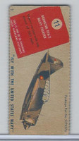 R8-2 Pecheur Lozenge, Peco Airplane Pictures, 1930's, #11 Brewster F2A2