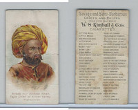N189 Kimball, Savage & Semi-Barbarous Chiefs, 1890, Arab Mir Ahmed Khan