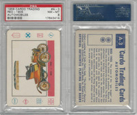 1958 Leaf, Cardo Trading Cards, #A-3 Reo-1905, PSA 8 NMMT